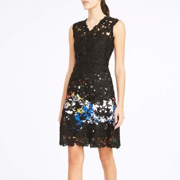 ecc3d97fcd Elie Tahari Dresses   Skirts - Elie Tahari Tinley Lace Sheath Multi Garden  Dress